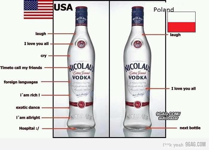 cultural differences between america and poland Polish-american relationship is uneven and probably it would  below is a  deeper look at the cultural differences between both countries.