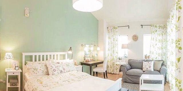 Slaapkamer Hemnes : ikea house. hemnes bed, strandkrypa duvet cover ...