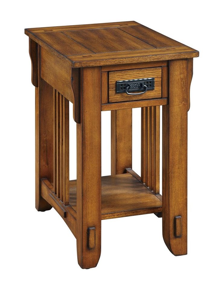Coaster 702006 End Table in Warm Brown Finish