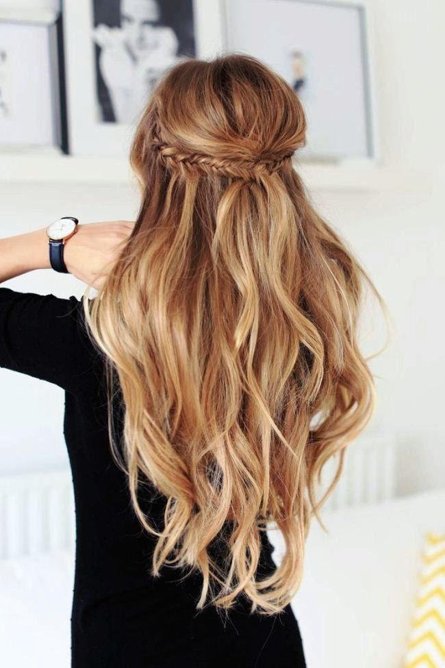 Simple Party Hairstyles For Long Hair At Home For Beginners | Party ...