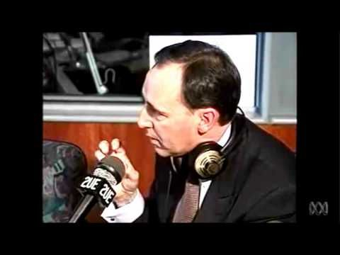 Paul Keating responds to an intolerant caller in response to the Mabo decision on John Laws' program.