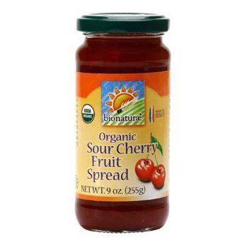 Sour Cherry Organic Fruit Spread - 9 oz: Amazon.com: Grocery & Gourmet Food