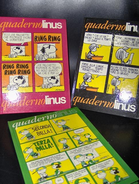 hard cover COMICS PEANUTS notebooks 80s (serie operazione nostalgia)