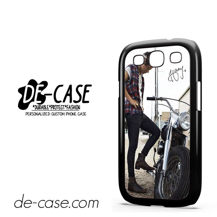 Harry Styles And His Bike DEAL-5163 Samsung Phonecase Cover For Samsung Galaxy S3 / S3 Mini