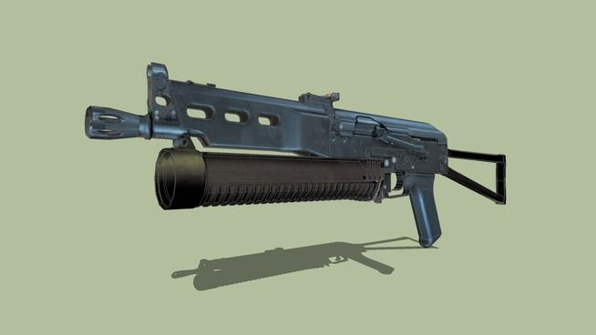 Large preview of 3D Model of PP-19 Bizon