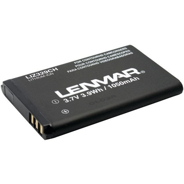Replacement Battery for Contour HD 1080p POV Camcorders - LENMAR - LIZ329CH