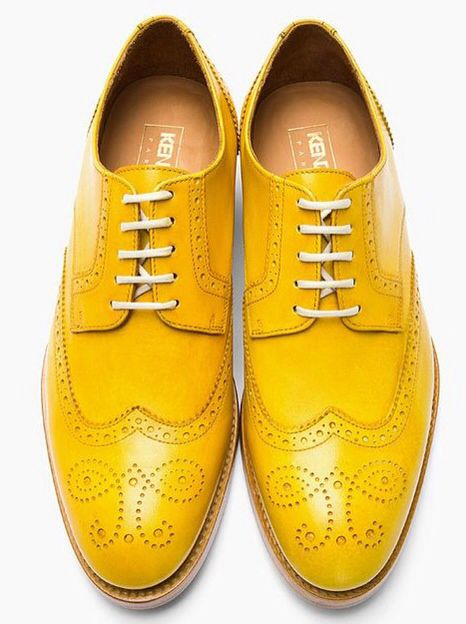 #colorful #yellow #shoes