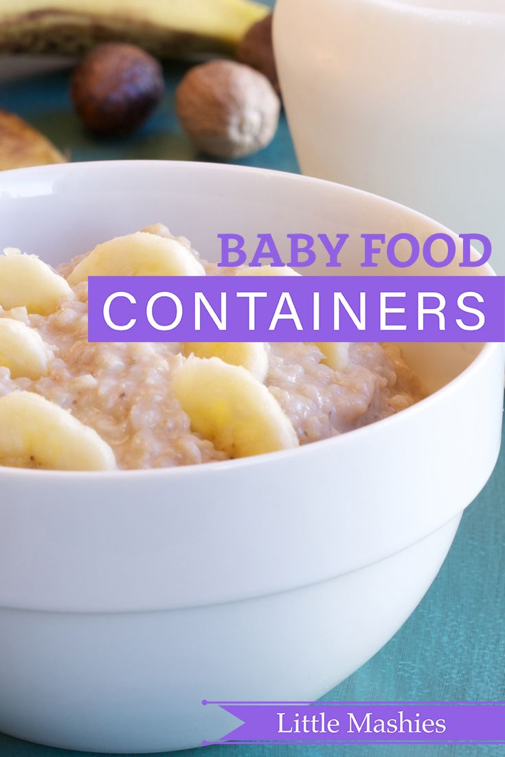17 Best Ideas About Baby Food Containers On Pinterest