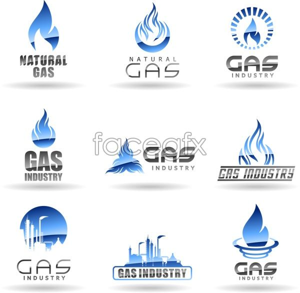 Natural gas company logo vector free download. File include logo, LOGO, gas, AI format. Category: Vector logo