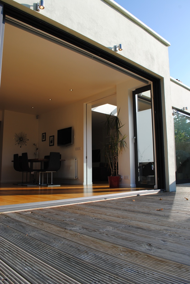 Single Storey House Design: This Project Involved A Two Storey Extension To The Side