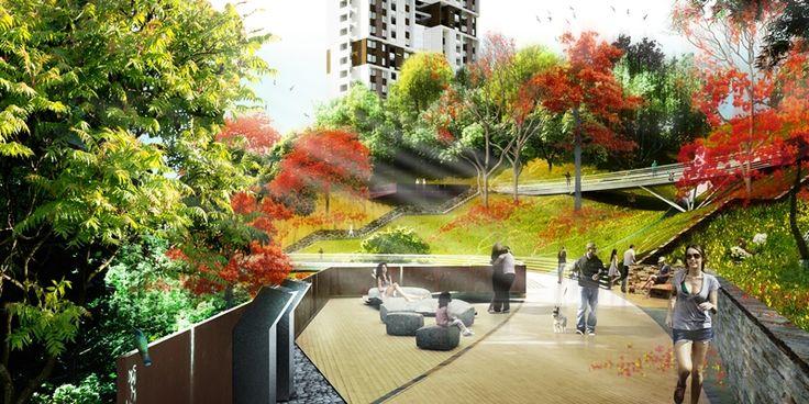 Vigía de los bosques es un proyecto en el que se construirán dos torres de 48 apartamentos con 26 y 24 pisos de altura. Cada piso tendrá sólo dos apartamentos con una altura libre de 2.60 m y acabados de lujo.