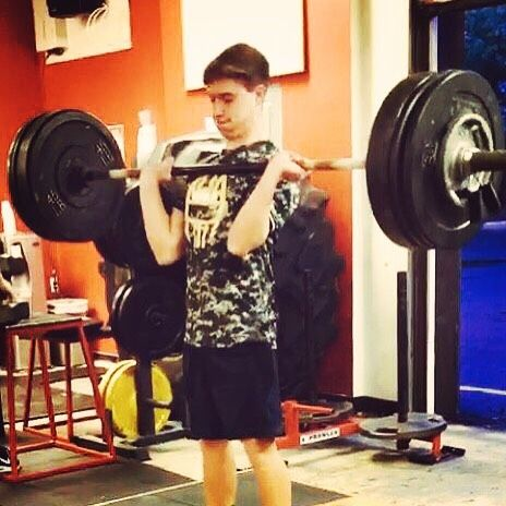 Seneca HS Football Player Ethan Bednar with an impressive PR on the hang clean of 195 lbs. This guy doesn't say much but he works his butt off everyday and is seeing the results. #impactstrong #impactarmy #southjerseyfootball #southjerseyfootballtraining #njfootball #njfootballtraining #trainwiththebest #impacttrainingnj #westberlinnj #shamongnj #shamong #results #yougetwhatyouworkfor #nohypejustresults