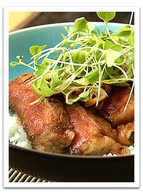 和風ステーキ丼! by popo [クックパッド] 簡単おいしいみんなのレシピ ...
