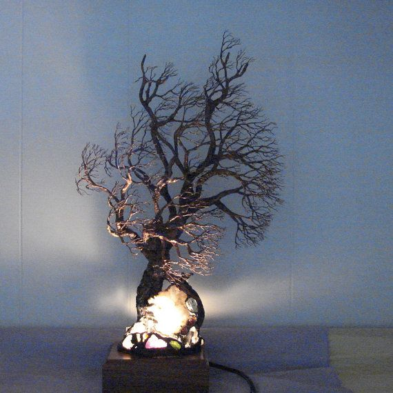 Wire Tree Of Life sculpture Ancient Grove Spirit by CrowsFeathers, Sold