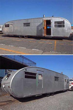 密買東京 移動の可能性 商品詳細 (トレーラーハウス(Spartan、Royal Spartanette、Streamline、Silver Streak))