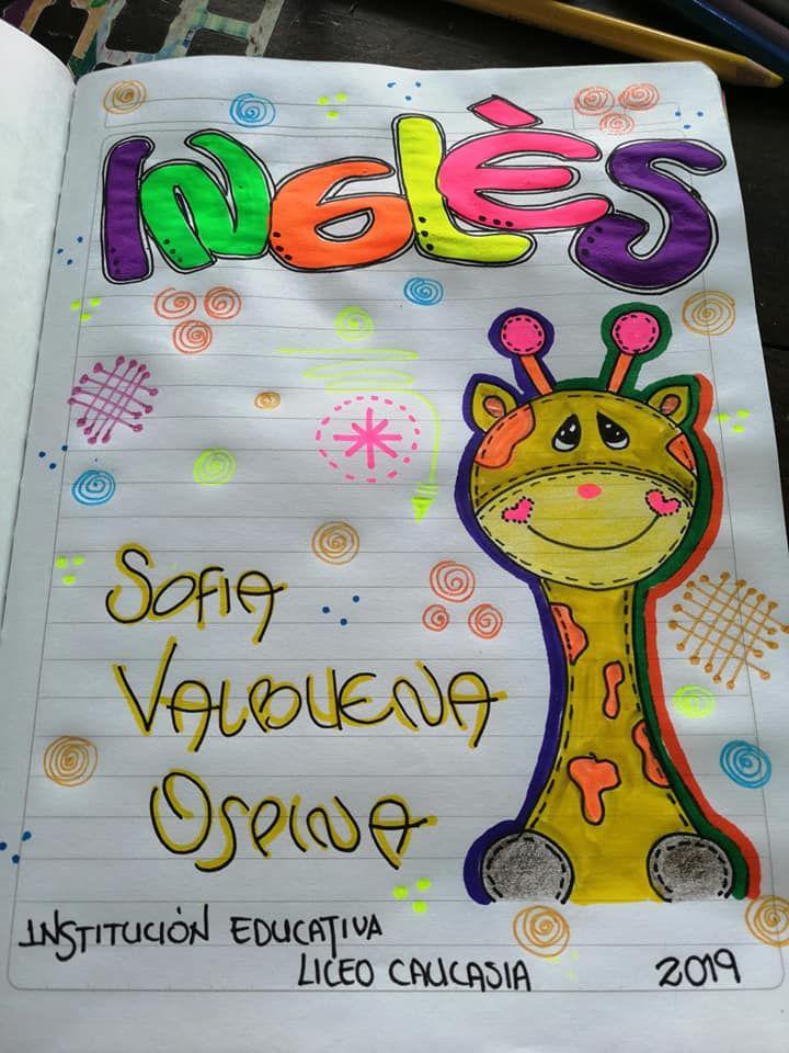 Caratulas Cuadernos Creativos Caratulas Para Cuadernos Marcas De Cuadernos