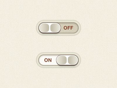 UI - Slide switch