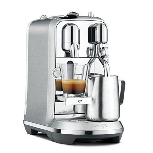Now Buy Nespresso Creatista Plus Coffee Machine, Silver by Sage @ Amazon.co.uk with lowest price. Brand: Nespresso Amazon.co.uk Gives Best Deals, Offers and Discounts and Coupon codes on Nespresso Creatista Plus Coffee Machine, Silver by Sage in United Kingdom. Buy it Now to avail this Offer.
