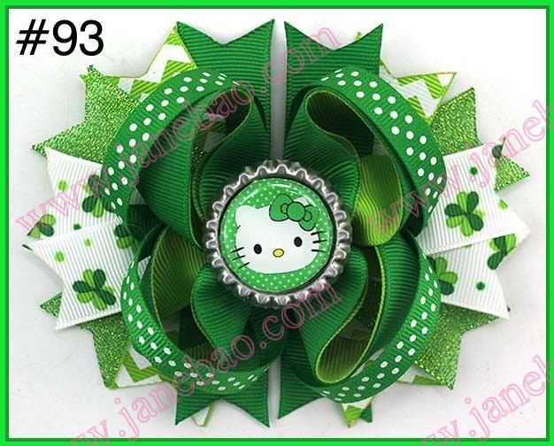 Find More Hair Accessories Information about free shipping 2016 newest 145pcs St Patricks Day Bow Angel St. Patrick's Day Boutique Style Hair Bow shamrock ribbon bows,High Quality ribbon for hair bows,China ribbon sculpture hair bows Suppliers, Cheap bow violin from JaneBao Jewelry&Accessories CO.,LTD on Aliexpress.com