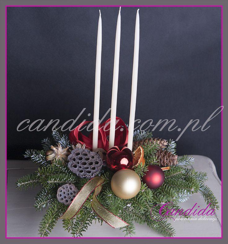stroik świąteczny dekoracja świateczna #stroikświąteczny #dekoracjabożonarodzeniowa
