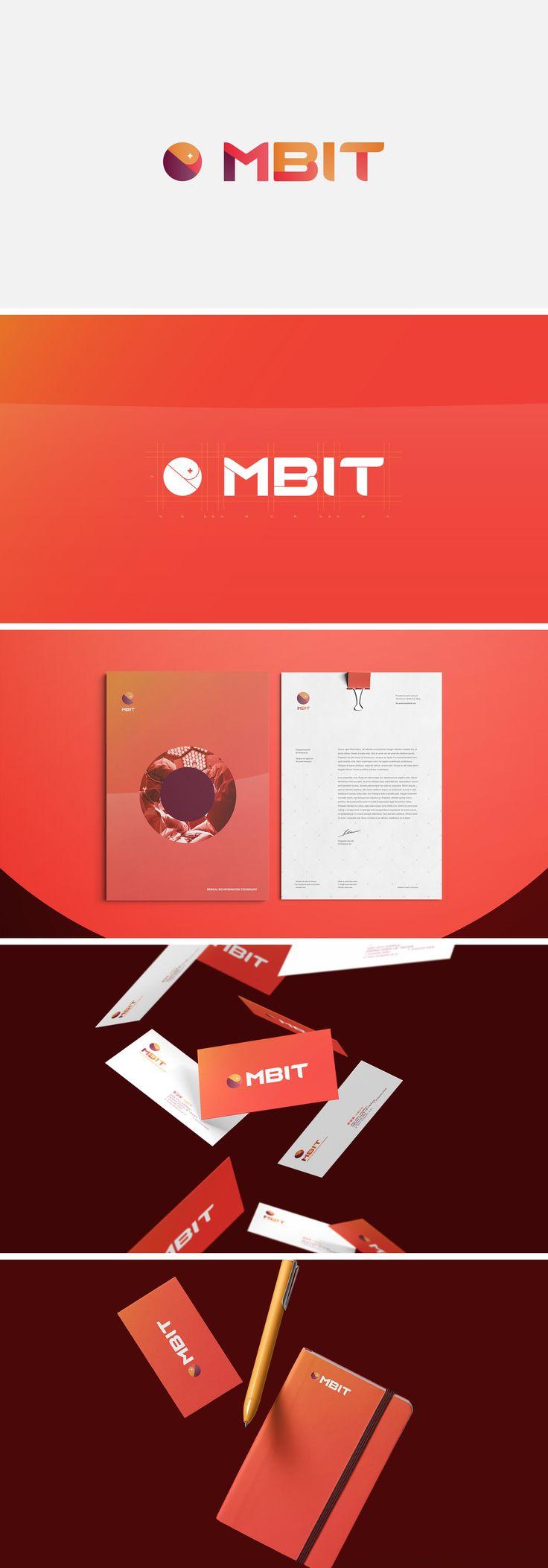 MBIT Brand Identity - MBIT 브랜드 아이덴티티 개발 by. studio Half8 #identity #logo #branding #academylogo #universitylogo