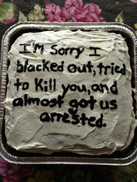 I owe this cake to about 20 people!