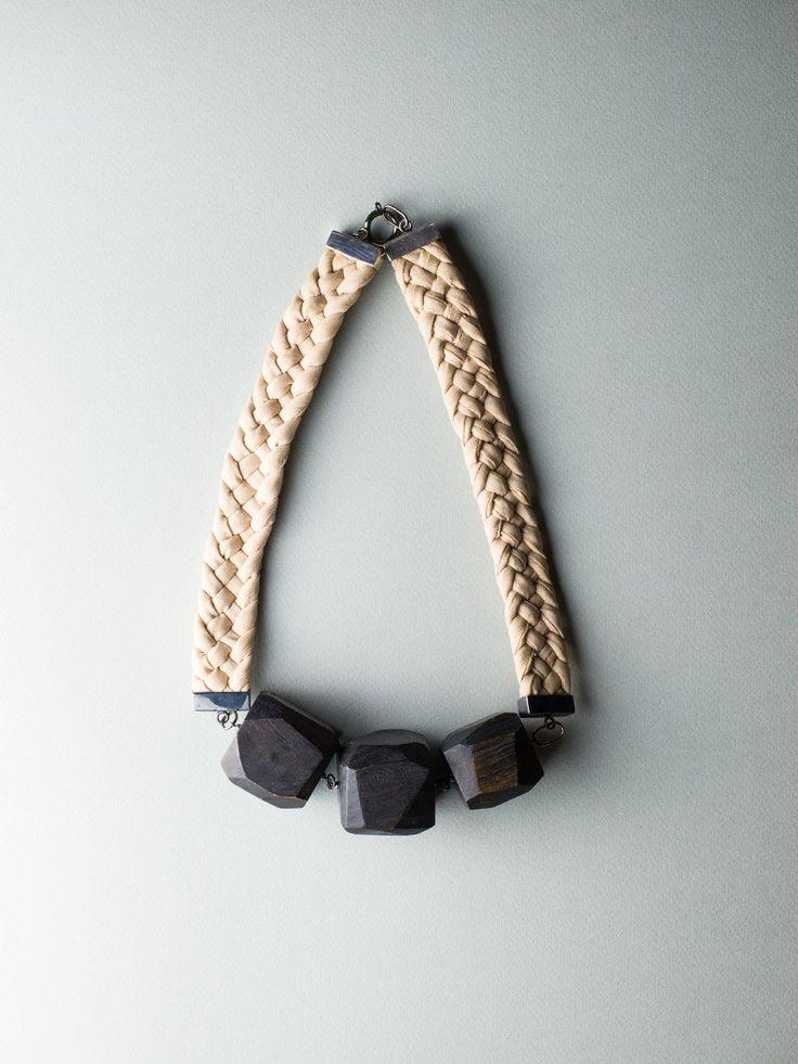Silky Fragments Necklace by Carla Szabo #jewelry #design #necklace