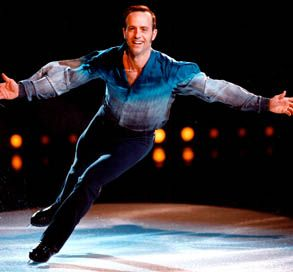 Brian Boitano - Olympics on Ice in Chicago...came up afterwards and autographed photos...glad I fought the crowd to get down to him in time!