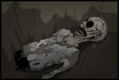 Kenneth back from the great war! ~Salad Fingers Cartoon
