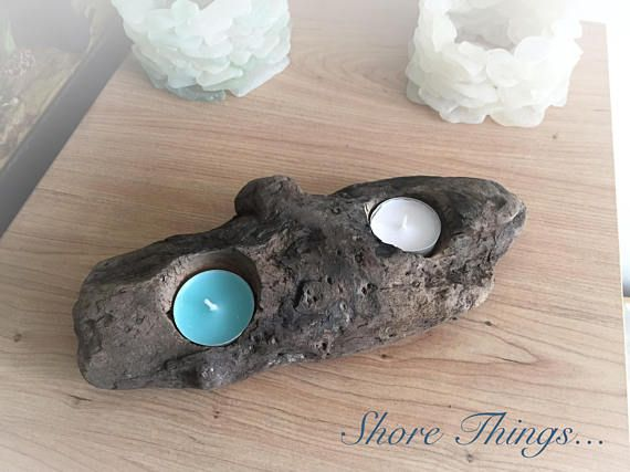 Hey, I found this really awesome Etsy listing at https://www.etsy.com/listing/528935163/driftwood-tea-light-holder-beach-style