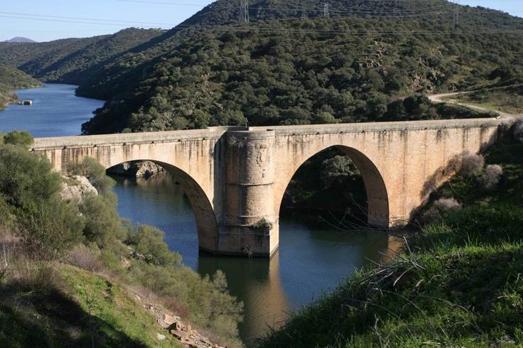 El Puente de Albalat, también conocido como de Almaraz, fue construido por Carlos V. Fue un lugar clave en la invasión del ejército de Napoleón en tierras extremeñas. En su defensa el General Galluzo se vio impotente y temeroso e intentó volarlo sin conseguirlo. Después se replegó a Serrejón dejando un contingente pequeño de soldados defendiéndolo por lo que los franceses lo tomaron y pudieron avanzar.