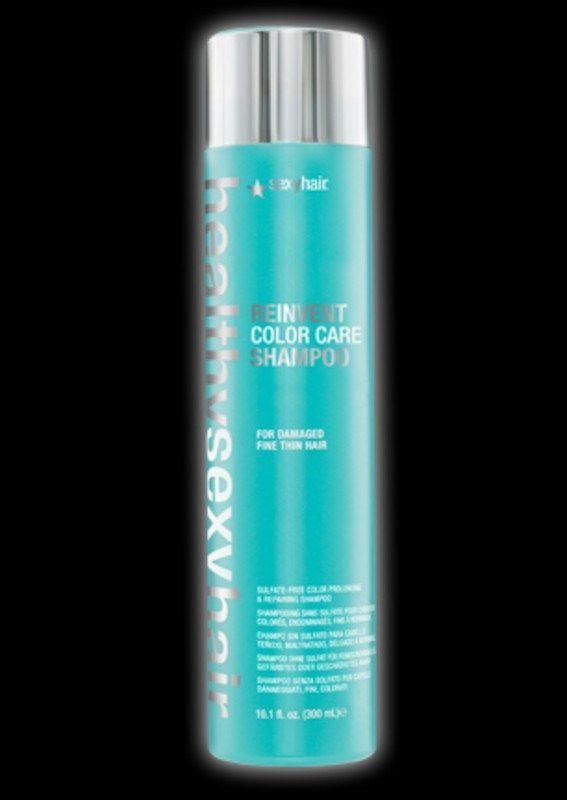 SEXY HAIR HEALTHY REINVENT COLOR CARE SHAMPOO FINE HAIR 10.1 OZ