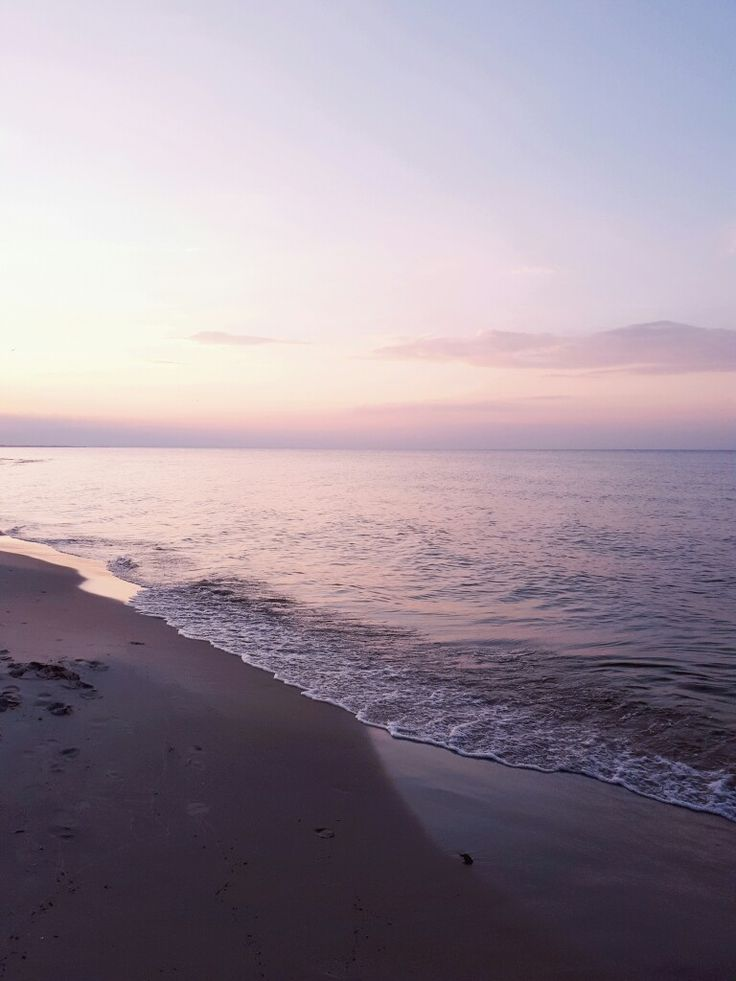 Pink Baltic Sea
