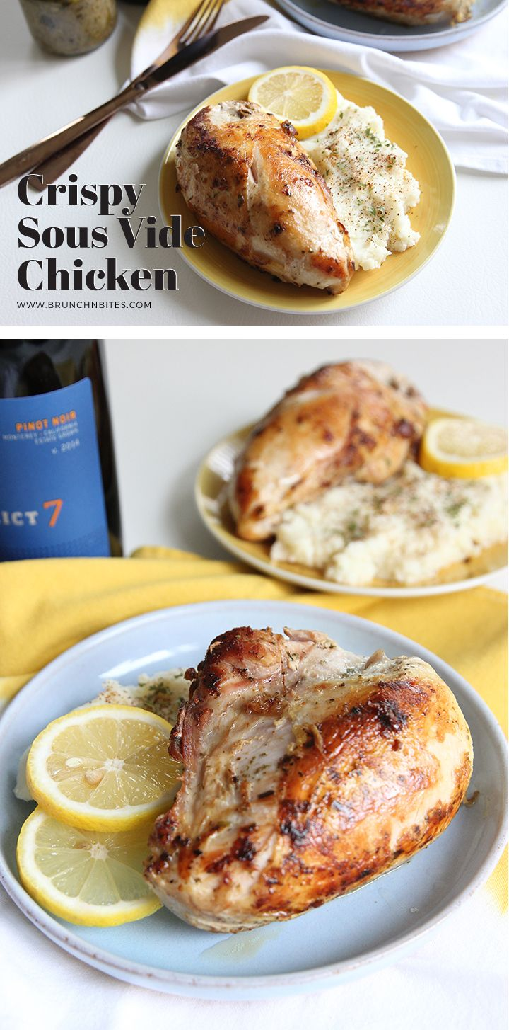 The sous vide technique makes these chicken super moist and juicy. And it takes less than 5 ingredients to make this dish that would surely awaken your taste buds!