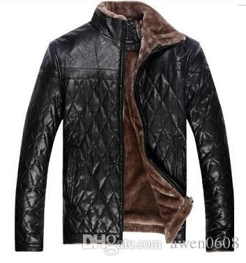 Wholesale cheap  online, gender - Find best brand new men's winter warm fur leather jacket casual flocking men's clothing leather jacket men free shipping at discount prices from Chinese men's leather & faux leather supplier - awen0608 on DHgate.com.