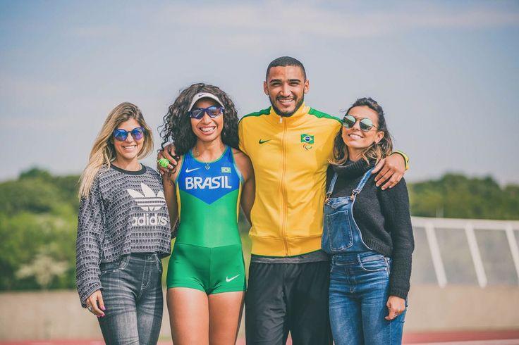 Essa semana fomos para São Paulo acompanhar de pertinho a convocação dos atletas paralímpicos e fazer uma experimentação de alguns dos esportes adaptados. Pela primeira vez na história, o Brasil te...