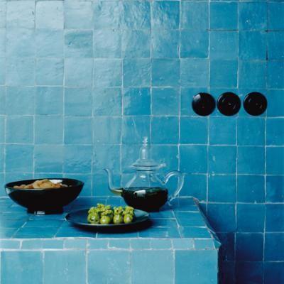 Zelige tiles. Love them.