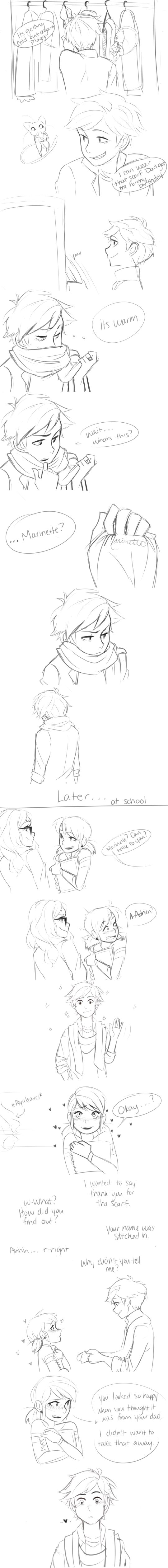 Reason #13 they should be together: they are so perfect for each other! ~Comic by Taylordraws on Tumblr