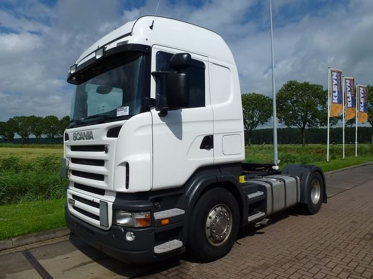 For sale: Used and second hand - Tractor unit SCANIA R 420 HL MANUAL