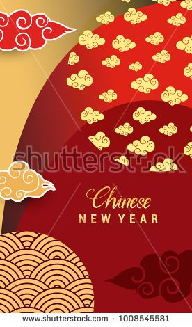 Chinese New Year 60 Vertical Banners Elements Vector Illustration Delectable Asian Patterns