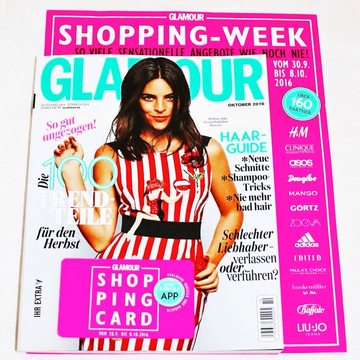 Glamour Shopping-Week... Infos für Österreicher/Innen und warum ich enttäuscht bin auf meinem Blog: http://everyoneistheirownkindofbeautiful.blogspot.co.at/2016/09/glamour-shopping-week-osterreich.html?m=1
