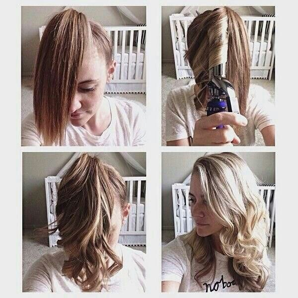 How to curl hair in 5 minutes