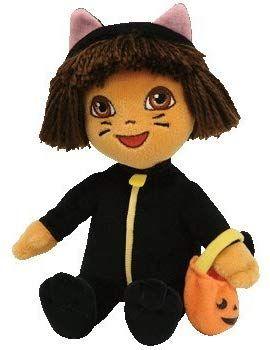 dd2ba1fb669 Amazon.com  TY Beanie Baby - DORA the Explorer (Cat Costume)  Toy   Toys    Games