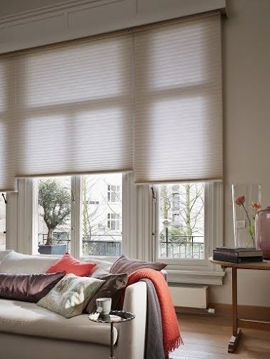 Neutral Duette Living Room Blinds Neutral Home Decor Energy Saving Blinds Lounge Blinds Contemporary Neutral Colour Inspiration For The Living Room