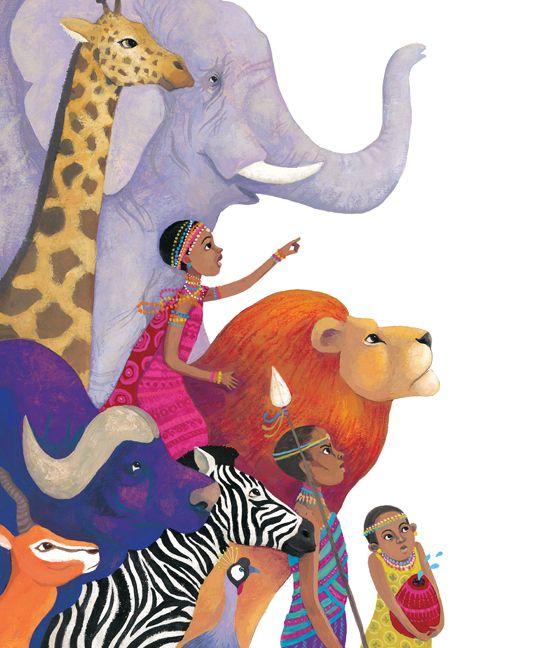Illustrations Anja Klauss Portfolio : histoires autour du monde