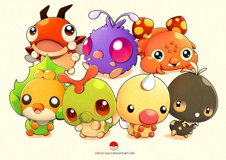 pokemon memes cute bug type fan art