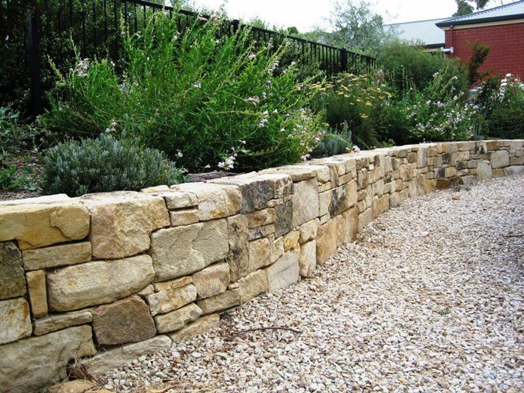 20 Ideas On Building A Garden Wall And Its Layout Building