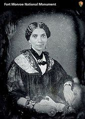 "MARY PEAKE,  a free Negro, was asked to teach, even though an 1831 Virginia law forbid the education of slaves, free blacks and mulatto's. She held her first class, which consisted of about twenty students, on September 17, 1861 under a simple oak tree. This tree would later be known as the ""EMANCIPATION OAK"" and would become the site of the first Southern Reading of The Emancipation Proclamation, in 1863."