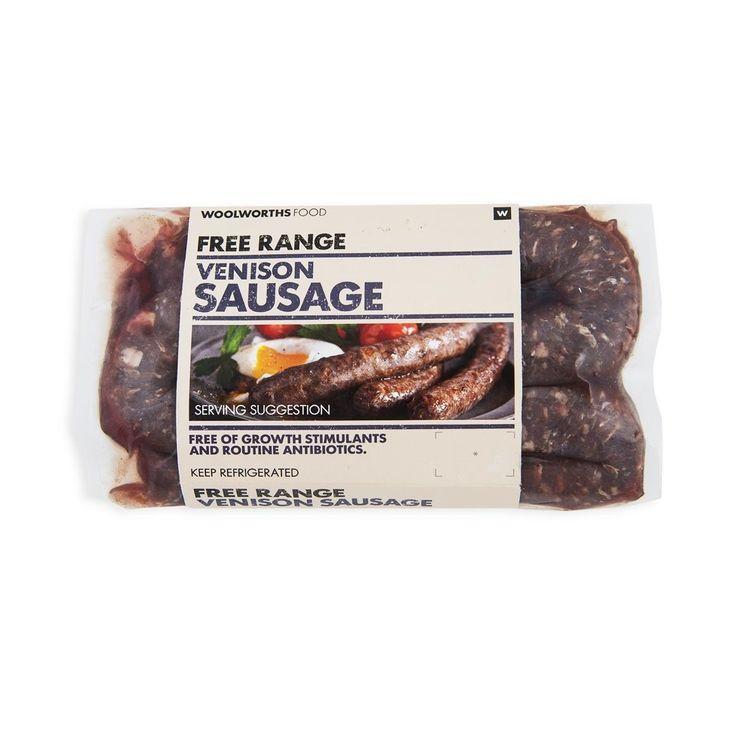 Free Range Venison Sausage 500g