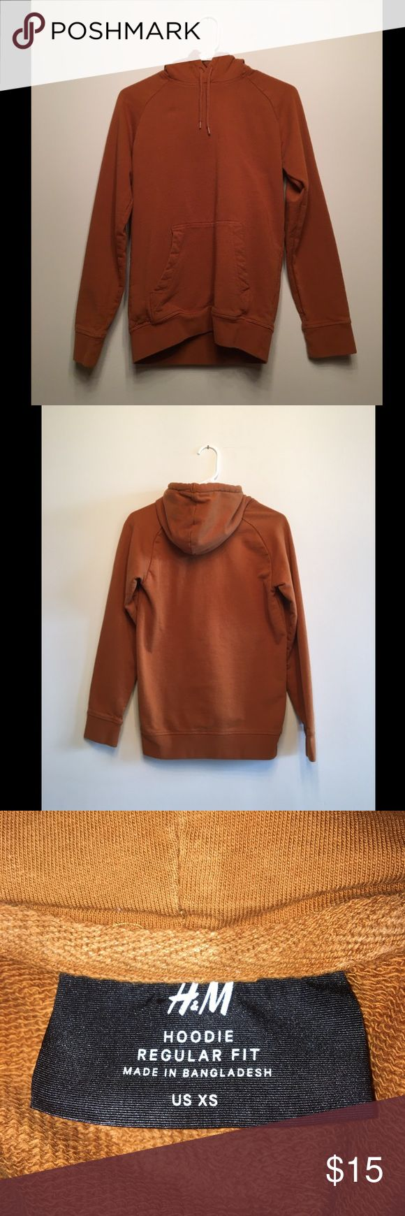 H&M Sweatshirt with Raglan Sleeves Ocher H&M Sweatshirt with Raglan Sleeves Ocher  - Men's XS - In great condition - Has been washed and worn  ALL SALES ARE FINAL NO TRADES H&M Shirts Sweatshirts & Hoodies